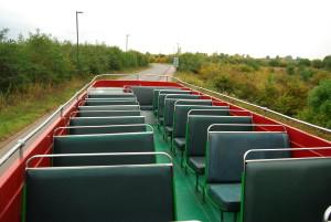 ロンドンバスからの眺め