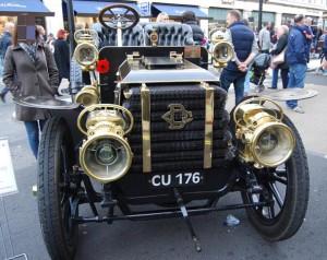 ロンドンの車イベント